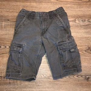 Canyon River Blues Gray Cargo Shorts